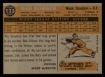 1960 Topps #123  Rookies  -  Dan Dobbek Back Thumbnail