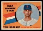 1960 Topps #117   -  Tom Borland Rookies Front Thumbnail