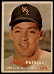 1957 Topps #395   Bubba Phillips Front Thumbnail