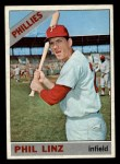 1966 Topps #522   Phil Linz Front Thumbnail