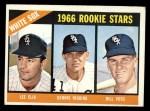 1966 Topps #529   -  Dennis Higgins / Bill Voss / Lee Elia White Sox Rookies Front Thumbnail