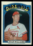 1972 Topps #9   Stan Williams Front Thumbnail