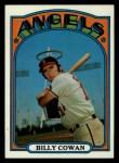 1972 Topps #19   Billy Cowan Front Thumbnail