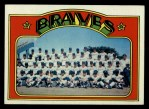 1972 Topps #21   Braves Team Front Thumbnail