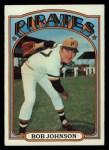 1972 Topps #27   Bob Johnson Front Thumbnail