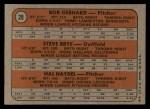 1972 Topps #28  Twins Rookies   -  Steve Brye / Bob Gebhard / Hal Haydel Back Thumbnail
