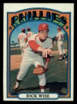 1972 Topps #43   Rick Wise Front Thumbnail