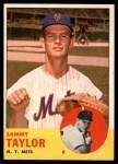 1963 Topps #273  Sammy Taylor  Front Thumbnail