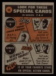 1972 Topps #48  In Action  -  John Ellis Back Thumbnail