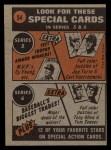 1972 Topps #54  In Action  -  Bud Harrelson Back Thumbnail