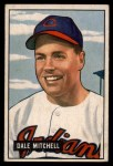 1951 Bowman #5   Dale Mitchell Front Thumbnail