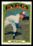 1972 Topps #58   Ernie McAnally Front Thumbnail