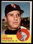 1963 Topps #181   Sammy Esposito Front Thumbnail