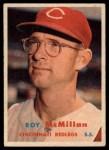 1957 Topps #69  Roy McMillan  Front Thumbnail