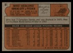 1972 Topps #81  Mike Hedlund  Back Thumbnail