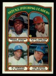 1972 Topps #93  1971 NL Pitching Leaders    -  Steve Carlton / Al Downing / Fergie Jenkins / Tom Seaver Front Thumbnail