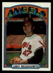 1972 Topps #160  Andy Messersmith  Front Thumbnail