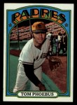 1972 Topps #477   Tom Phoebus Front Thumbnail