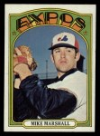 1972 Topps #505   Mike Marshall Front Thumbnail