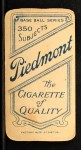 1909 T206 #11  Frank Arellanes  Back Thumbnail