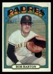 1972 Topps #39   Bob Barton Front Thumbnail