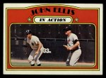 1972 Topps #48  In Action  -  John Ellis Front Thumbnail