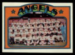 1972 Topps #71  Angels Team  Front Thumbnail