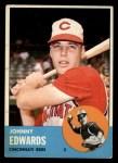 1963 Topps #178   Johnny Edwards Front Thumbnail