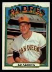 1972 Topps #123  Ed Acosta  Front Thumbnail