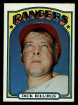 1972 Topps #148  Dick Billings  Front Thumbnail