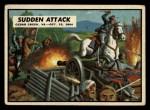1962 Topps Civil War News #78   Sudden Attack Front Thumbnail