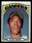 1972 Topps #277   Elliott Maddox Front Thumbnail