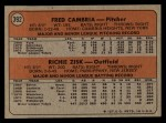 1972 Topps #392  Pirates Rookies    -  Fred Camria / Richie Zisk Back Thumbnail