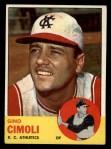 1963 Topps #321   Gino Cimoli Front Thumbnail