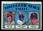 1972 Topps #457  Padres Rookies    -  Darcy Fast / Mike Ivie / Derrel Thomas Front Thumbnail