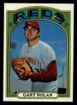1972 Topps #475   Gary Nolan Front Thumbnail