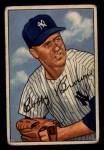 1952 Bowman #105   Bobby Brown Front Thumbnail