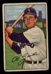 1952 Bowman #113  Al Zarilla  Front Thumbnail
