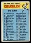 1966 Topps #101 COR  Checklist 2 Front Thumbnail