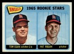 1965 Topps #486   Angels Rookie Stars  -  Tom Egan / Pat Rogan Front Thumbnail