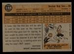 1960 Topps #148   -  Carl Yastrzemski Rookies Back Thumbnail