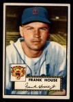 1952 Topps #146 ^COR^ Frank House  Front Thumbnail