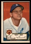 1952 Topps #39 BLK  Dizzy Trout Front Thumbnail