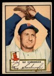 1952 Topps #43 RED Ray Scarborough  Front Thumbnail