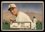 1952 Topps #8 RED  Fred Marsh Front Thumbnail