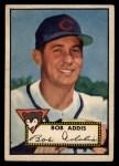 1952 Topps #259   Bob Addis Front Thumbnail