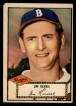 1952 Topps #51 RED Jim Russell  Front Thumbnail