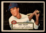 1952 Topps #69 RED Virgil Stallcup  Front Thumbnail