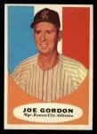 1961 Topps #224   Joe Gordon Front Thumbnail