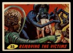 1962 Bubbles Inc Mars Attacks #33   Removing the Victims  Front Thumbnail